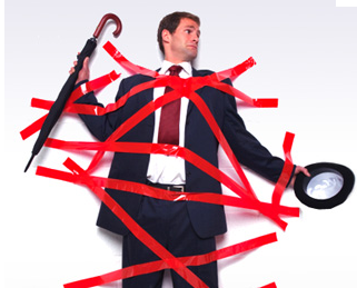 Drowning in red tape