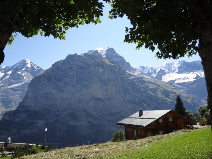How gorgeous is the little town of Murren?