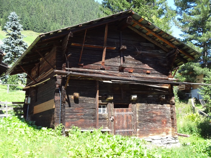 An OLD swiss home